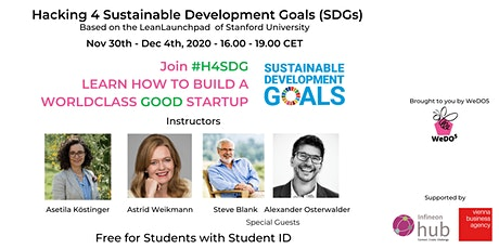 Build your Startup: Hacking for Sustainable Development Goals 5-day Program tickets