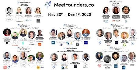 MeetFounders VC Investment Event (Nov 2020) tickets
