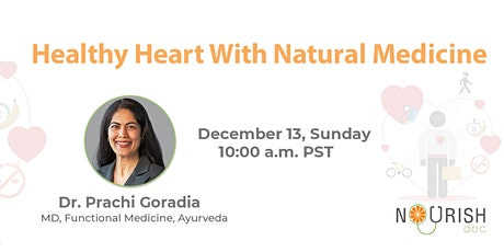 Healthy Heart with Natural Medicine tickets