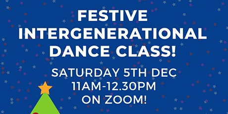 Clifftop Projects December Intergenerational Dance Class! tickets