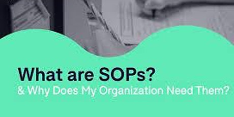 Recorded Corporate:1 Hour Virtual Seminar On WRITING EFFECTIVE SOPS FOR QMS tickets