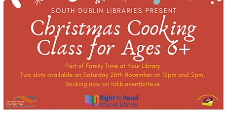 Online Christmas Cookery Class tickets