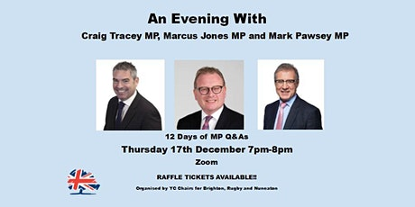 12 Days of MP Q&As with Craig Tracey, Marcus Jones and Mark Pawsey tickets