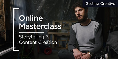 Online Masterclass | Storytelling & Content Creation tickets