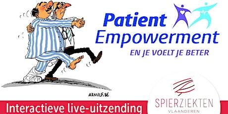 Webinar patient empowerment = wederzijds respect tickets