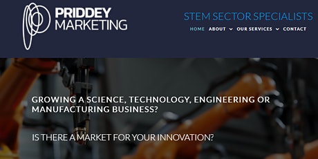 Marketing Training - for leaders in science, technology, engineering tickets