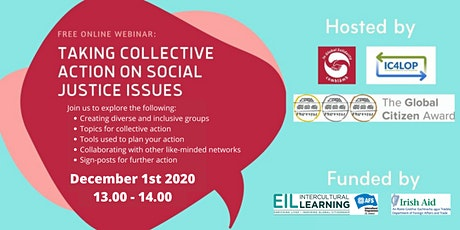 Webinar: Taking Collective Action on Social Justice Issues tickets
