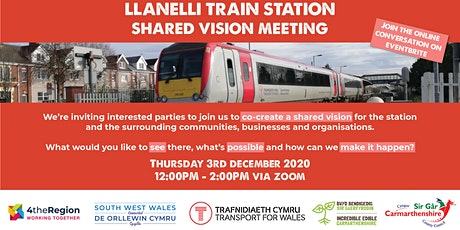 Llanelli  - Shared Vision Meeting tickets