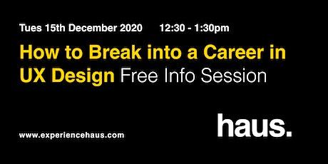 How to Break Into a Career in UX Design entradas