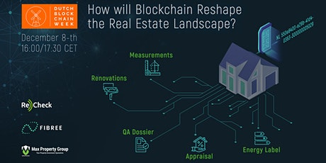 How will Blockchain Reshape the Real Estate Landscape? tickets
