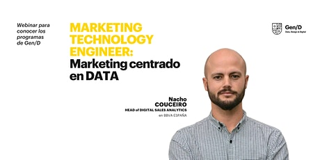 Programa Marketing Technologist entradas