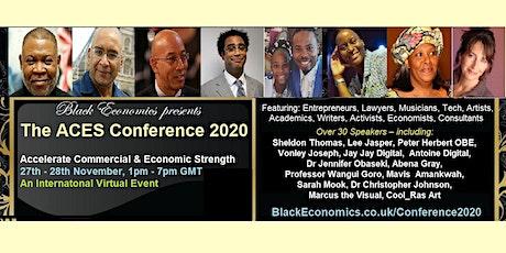Black Economics - ACES Conference 2020 tickets