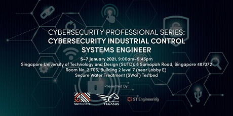 Cybersecurity Industrial Control Systems Engineer (5 – 7 January 2021) tickets