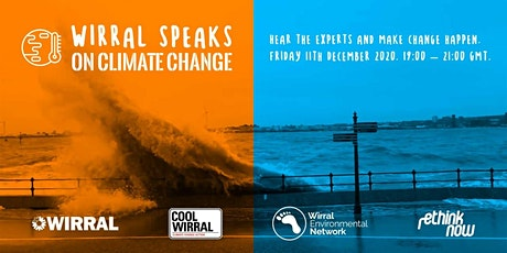 Wirral Speaks on Climate Change. Hear the experts and make change happen. tickets