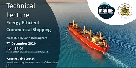 WEBINAR: Energy Efficient Commercial Shipping tickets