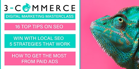 The  Digital Masterclass - 3 Commerce Solutions Ltd tickets