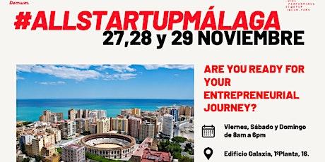 #AllStartupMálaga - ¿Listo para ser un emprendedor de éxito? entradas