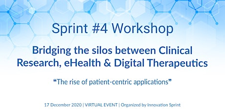 Bridging the silos between Clinical Research,eHealth & Digital Therapeutics tickets