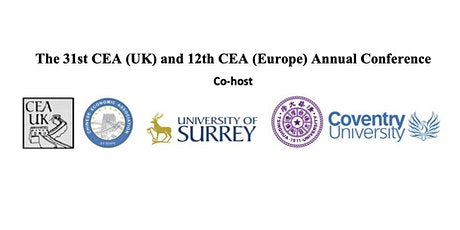 The 12th CEA (Europe) and 31st CEA (UK) ANNUAL CONFERENCE tickets