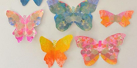 Melted Crayon Butterflies (ADVANCED English,10yrs+) with Natalie tickets