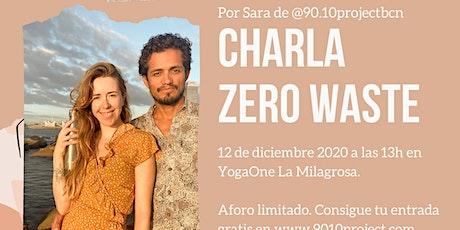 Charla Zero waste con Sara Cordeiro tickets