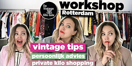 Kilo Vintage workshop - 12 december tickets