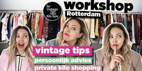 Vintage Kilo workshop - 13 december tickets