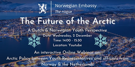 The Future of the Arctic - A Dutch & Norwegian Youth Perspective tickets