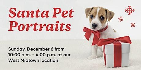 Santa Pet Portraits tickets