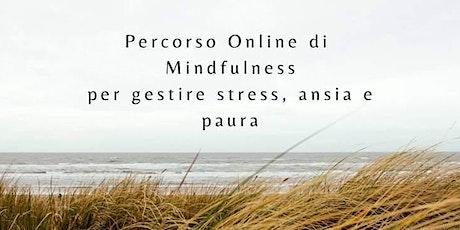 Meditazioni Mindfulness Online biglietti