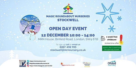 Open Day Event - MRN Stockwell tickets