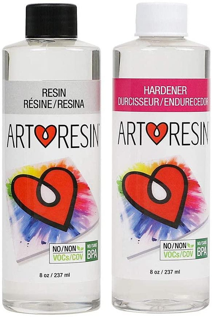 Fluid Art Experience - Using varnish and resin to seal and protect your art image