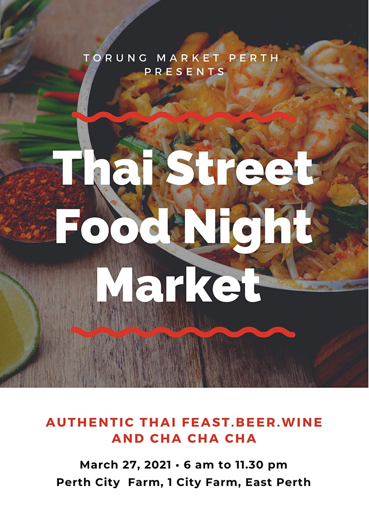 Authentic Thai Feast. Beer. Wine and Cha Cha Cha image