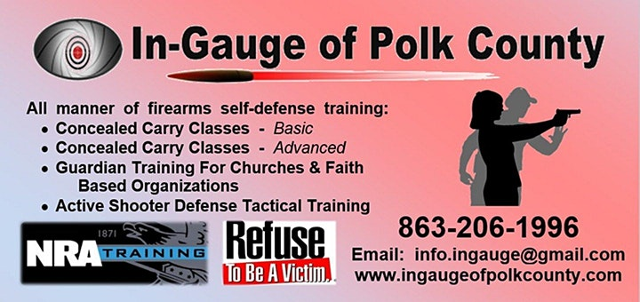 Gift Certificates Available -  Concealed Carry & Firearm Training Classes image