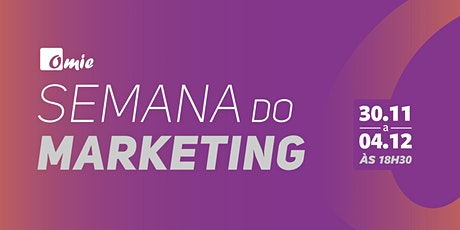 Semana do Marketing ingressos