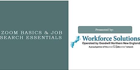 Zoom Basics & Job Search Essentials tickets