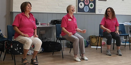 """""""Movement to Music""""  Exercise Session -  Tuesday 1st December 12 noon tickets"""