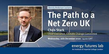 Dennis Anderson Lecture: The Path to a Net Zero UK tickets