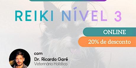 Reiki Nível 3 online - 17 de dezembro