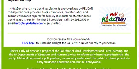 Training of PA Approved Attendance Tracking and Reporting App! tickets