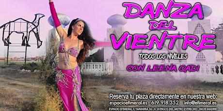 Clases de danza del vientre con Leena Qadi tickets