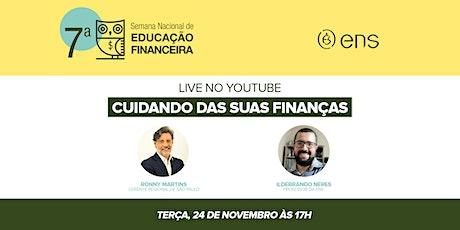 Live: Cuidando das suas finanças ingressos