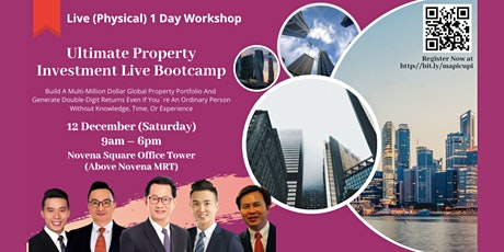 Ultimate Property Investment LIVE Bootcamp tickets