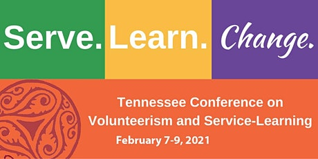 2021 Virtual Tennessee Conference on Volunteerism and Service-Learning tickets