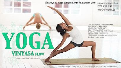 Clases de Yoga Vinyasa entradas