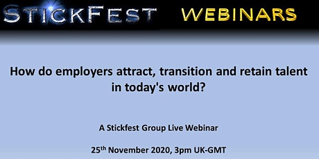 How do employers attract, transition and retain talent in today's world? tickets