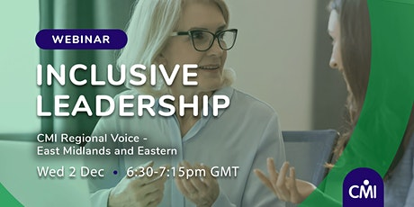 Inclusive Leadership tickets