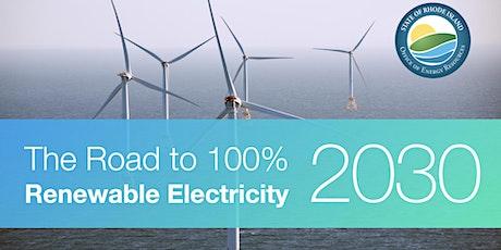 100% Renewable Electricity Initiative Public Workshop #3 tickets