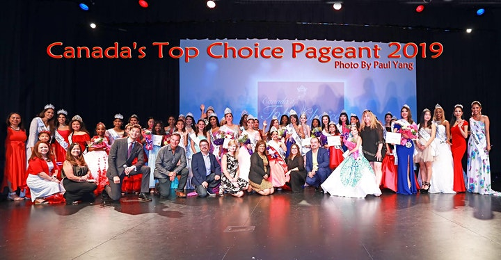 Canada's Top Choice Pageant 2020 (Live or Virtual) image