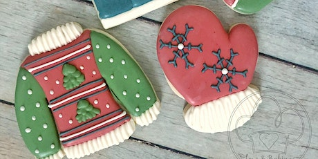 Ugly Sweater Cookie Decorating Class 2 tickets